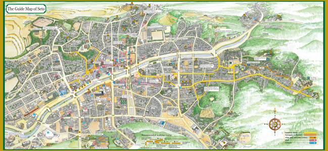 The Guide Map of Seto