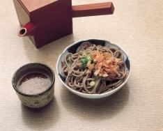 Echizen Oroshi Soba (buckwheat noodles with grated Japanese radish)