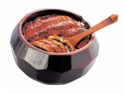 Hitsumabushi, Chopped Grilled Eels on Top of Rice